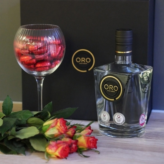 Picture of ORO Gin Valentine's Day Gift Box