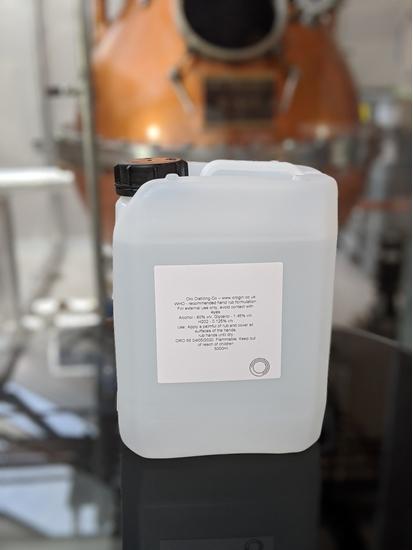 Picture of 5L Hand Sanitiser (£25 + VAT) Sale price